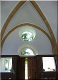ST3505 : Forde Abbey Chapel: west door by Basher Eyre