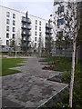 TQ7769 : Landscaping at Liberty Quays by David Anstiss