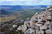 NH9305 : Northwest from Carn Eilrig summit by Jim Barton