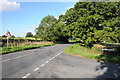 SO8870 : Road junction near Rushock by Philip Halling