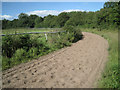 SP1369 : Bend on a gallop, Hill Farm by Robin Stott