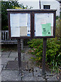TM0881 : Bressingham Village Notice Board by Adrian Cable