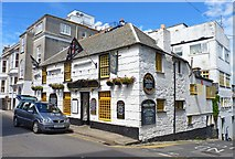 SW4730 : Admiral Benbow tavern, Penzance by Mike Smith