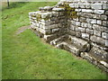 NY9170 : Roman Bath House at Chesters by Stanley Howe