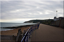 TV6198 : Deserted promenade, Eastbourne by Julian Osley