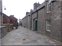 HU4741 : Lerwick: top section of Mounthooly Street by Chris Downer