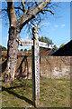 SU9298 : Carved Signpost, Little Missenden by Des Blenkinsopp
