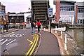 SO8218 : Llanthony Road Bridge, Gloucester Docks by Brian Robert Marshall