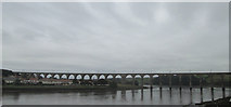 NT9953 : Royal Border Bridge, Berwick by John Slater