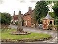 SK8832 : The Village Cross, Harlaxton by David Dixon
