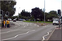 SK2524 : Derby Road by the Pirelli Stadium roundabout by Steve Daniels