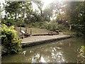 SK8833 : Grantham Canal, Harlaxton Wharf by David Dixon
