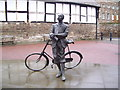 SO5139 : Elgar's statue in the cathedral close by Martin Speck