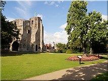 SK7954 : Newark Castle Gardens by David Dixon