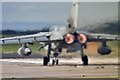 NJ2170 : Full power on the runway at RAF Lossiemouth by Walter Baxter