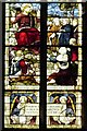 SK7953 : Newbold Memorial Window - Christ Delivering The New Laws by David Dixon