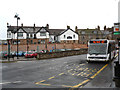 NT9953 : Berwick-upon-Tweed, Station forecourt by Dr Neil Clifton