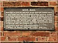 SK7953 : Moot Hall Plaque by David Dixon