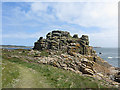 SV8908 : Dropnose Point, Gugh, St Agnes by John Rostron