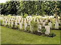 SK8052 : Newark Cemetery War Graves by David Dixon