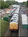 SK5612 : Rothley Station, Diesel Gala Weekend 2013 by Alan Murray-Rust