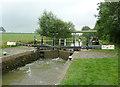 SP6694 : Kibworth Second Lock near Fleckney, Leicestershire by Roger  Kidd