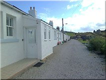 NS2515 : Cottages at Dunure by Gordon Hatton