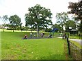 SE2837 : Children's playground in Meanwood Park by Oliver Dixon