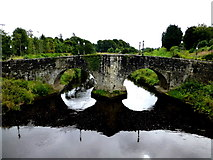 H4572 : King James Bridge, Omagh by Kenneth  Allen