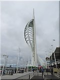 SZ6299 : Spinnaker  Tower  Gunwharf  Quay by Martin Dawes