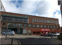 SX9192 : Entrance to Exeter Corn Exchange by David Smith