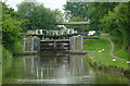 SP6694 : Kibworth Second Lock north-east of Fleckney, Leicestershire by Roger  Kidd