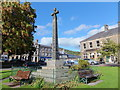 NU0501 : The Armstrong Cross, Rothbury by Barbara Carr