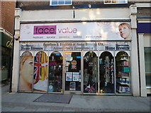 SY6990 : Face ValueChristie, South Street by Basher Eyre