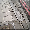 TQ3276 : Footway widening, Camberwell Green by Robin Stott