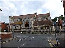 SX9192 : Emmanuel church, Exeter by David Smith