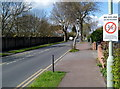 SO8216 : No cycling on the pavement in Tuffley Avenue Gloucester by Jaggery