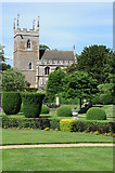 SK9239 : Belton church viewed from the gardens of Belton House by Philip Halling