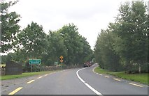 N1033 : Entering the village of Ballynahown on the N62 by Eric Jones
