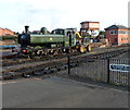 SO8376 : Recoaling a pannier tank locomotive at Kidderminster by Jaggery