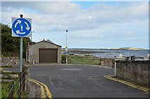 NO4202 : Road end at Temple, Lower Largo by Jim Barton