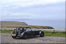 ND2076 : Car Park with a View, Dunnet Head Peninsula, Caithness by Terry Robinson