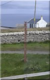 ND2076 : Cliff Viewpoint Signpost at Dunnet Head, Dunnet Head Peninsula, Caithness by Terry Robinson