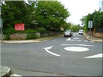 TQ1977 : Orange Way after Wiltshire (599) by Shazz