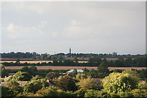 TA2711 : Grimsby Dock Tower from Tetney Church tower by Chris