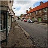 SU8294 : High Street, West Wycombe by Dave Hitchborne
