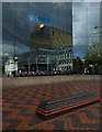 SP0686 : Centenary Square reflections, Birmingham by Julian Osley