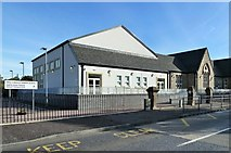 NS6113 : New Cumnock Primary School by Mary and Angus Hogg