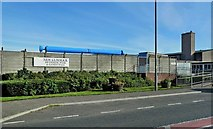 NS6113 : New Cumnock Swimming Pool & Games Hall by Mary and Angus Hogg