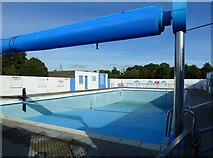 NS6113 : New Cumnock Open Air Heated Swimming Pool by Mary and Angus Hogg